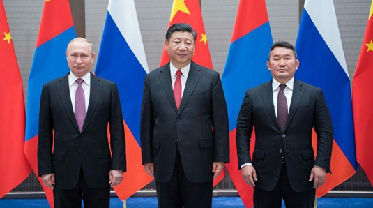 China, Russia, Mongolia vow to strengthen cooperation