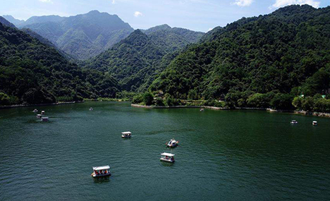 Summer scenery of Qinling Mountains